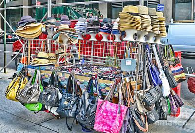 Hats And Handbags Poster by Paul Ward