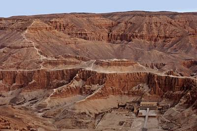 Hatshepsuts Mortuary Temple Poster by Kenneth Garrett