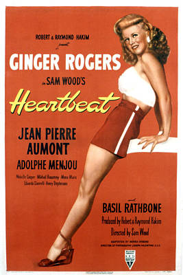 Heartbeat, Ginger Rogers, 1946 Poster by Everett
