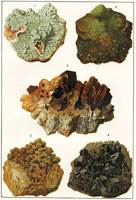 Heavy Metal Minerals Poster by Sheila Terry