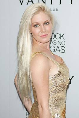 Heidi Montag In Attendance For Heidi Poster by Everett