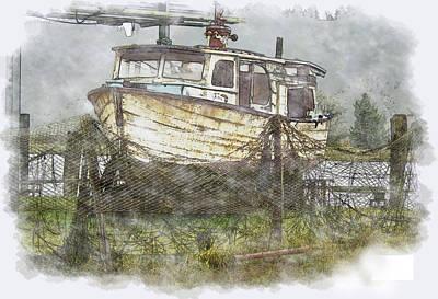Hidden Treasure 2 Poster by Dale Stillman