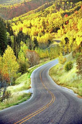 Highway Near Alpine Poster by Utah-based Photographer Ryan Houston