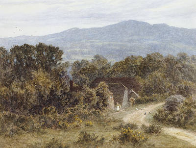 Hindhead From Sandhills Witley Poster by Helen Allingham