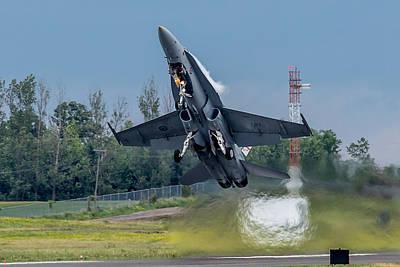 Hornet Power Poster by Bill Lindsay