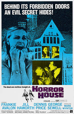 Horror House, Aka The Haunted House Of Poster by Everett