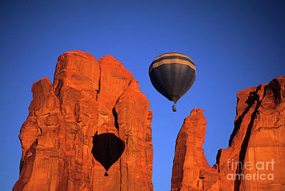 Hot Air Balloons 6 Poster by Bob Christopher