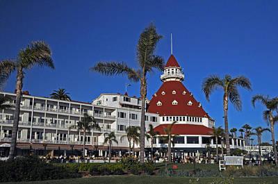 Hotel Del Coronado  Poster by Jonathan Whichard