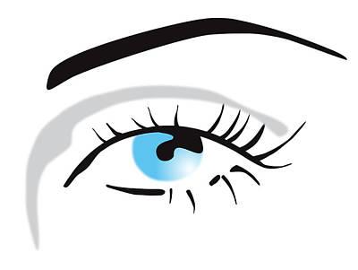 Human Eye Poster by David Nicholls