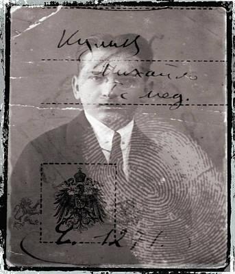 Human Identification Poster by Mehau Kulyk