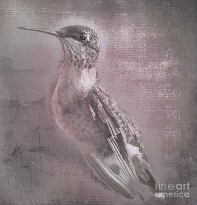 Hummer Portrait Poster by Cris Hayes