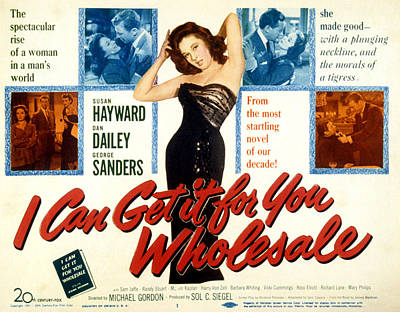 I Can Get It For You Wholesale, Susan Poster by Everett