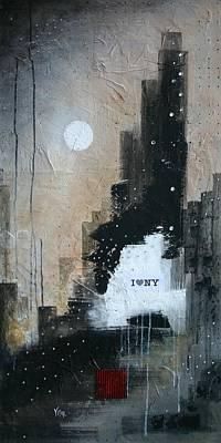 I Love Ny Poster by Vital Germaine