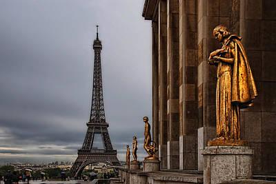 I Love Paris Poster by Joachim G Pinkawa