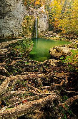 Ilica Waterfall Poster by Okan YILMAZ
