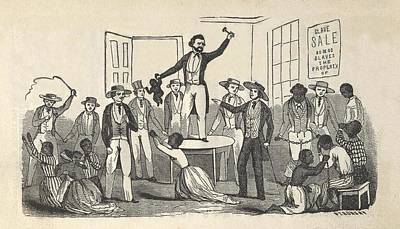 Illustration Of Fugitive Slave Henry Poster by Everett