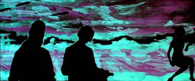 Imaginary Landscape - Fluorescence Serigraphy Poster by Arte Venezia