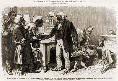 In 1877 Frederick Douglass 1818�1895 Poster by Everett