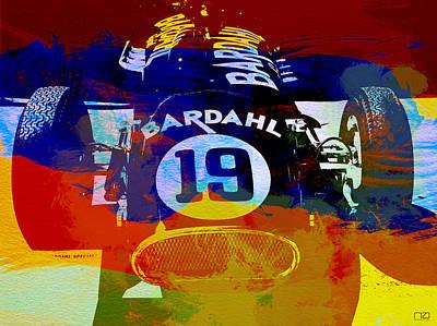 In Between The Races Poster by Naxart Studio