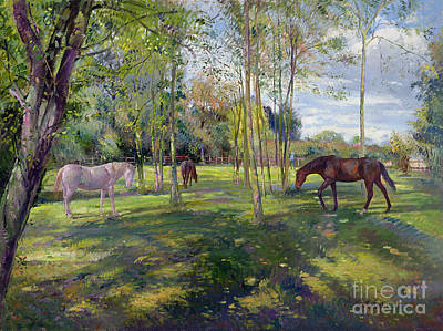 In The Rectory Paddock Poster by Timothy Easton