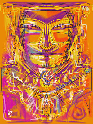 Inca King Poster by Russell Pierce
