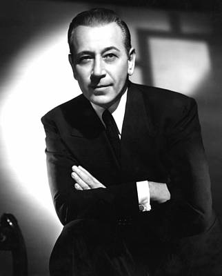 Intrigue, George Raft, 1947 Poster by Everett