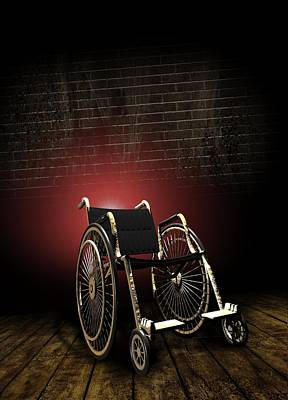 Isolation Through Disability, Artwork Poster by Victor Habbick Visions