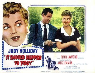 It Should Happen To You, Jack Lemmon Poster by Everett