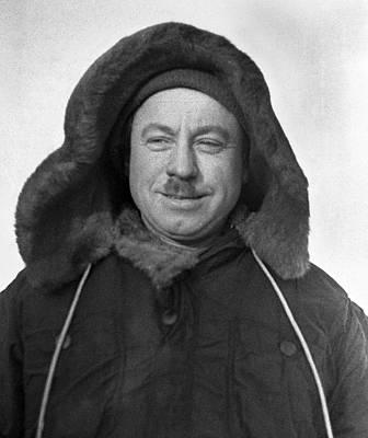 Ivan Papanin, Soviet Arctic Explorer Poster by Ria Novosti
