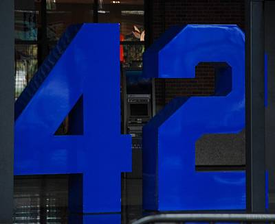 Jackie Robinson 42 Poster by Rob Hans