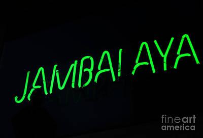 Jambalaya Poster by Leslie Leda