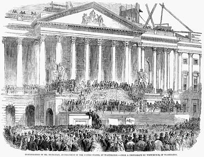 James Buchanan, 1857 Poster by Granger