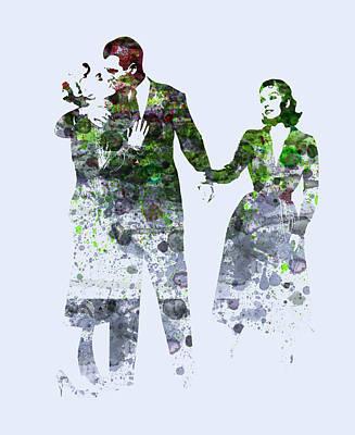 James Stewart Poster by Naxart Studio