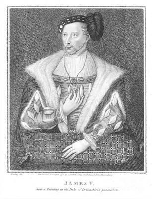 James V (1512-1542) Poster by Granger