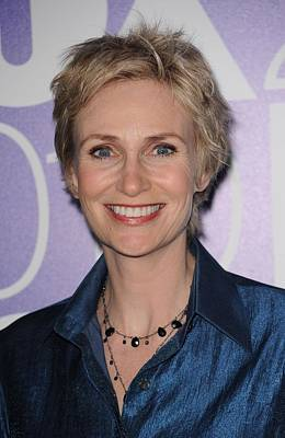 Jane Lynch In Attendance For Fox 2010 Poster by Everett