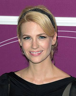 January Jones In Attendance Poster by Everett