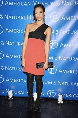 Jessica Alba  Wearing A Narciso Poster by Everett
