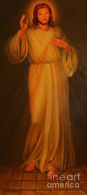 Jesus I Trust In You - Jesus Christ Of Nazareth Poster by Lee Dos Santos