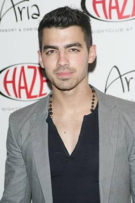 Joe Jonas In Attendance For Joe Jonas Poster by Everett