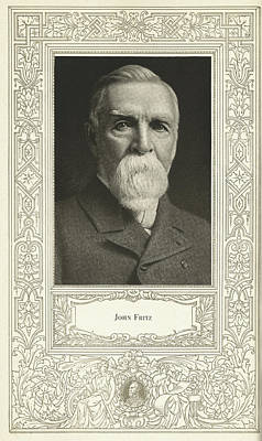John Fritz, American Mechanical Engineer Poster by Science, Industry & Business Librarynew York Public Library