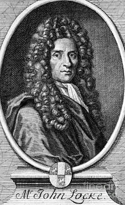 John Locke, English Philosopher, Father Poster by Science Source