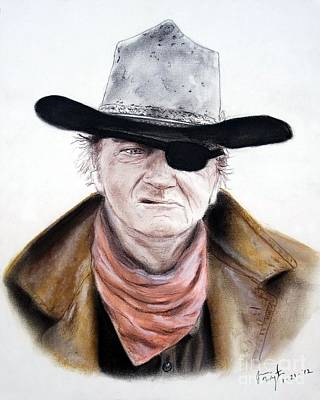 John Wayne  Poster by Jim Fitzpatrick