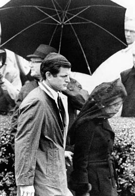 Joseph P. Kennedy Funeral. Rose Kennedy Poster by Everett