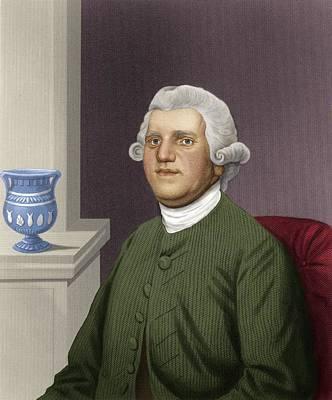 Josiah Wedgwood, British Industrialist Poster by Maria Platt-evans