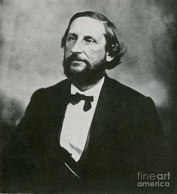 Judah P. Benjamin, Confederate Poster by Photo Researchers