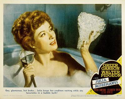 Julia Misbehaves, Greer Garson, 1948 Poster by Everett