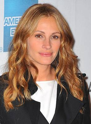 Julia Roberts At Arrivals For Jesus Poster by Everett