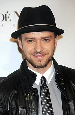 Justin Timberlake At Arrivals For 5th Poster by Everett