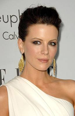 Kate Beckinsale At Arrivals For 15th Poster by Everett