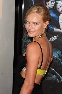 Kate Bosworth At Arrivals For True Poster by Everett